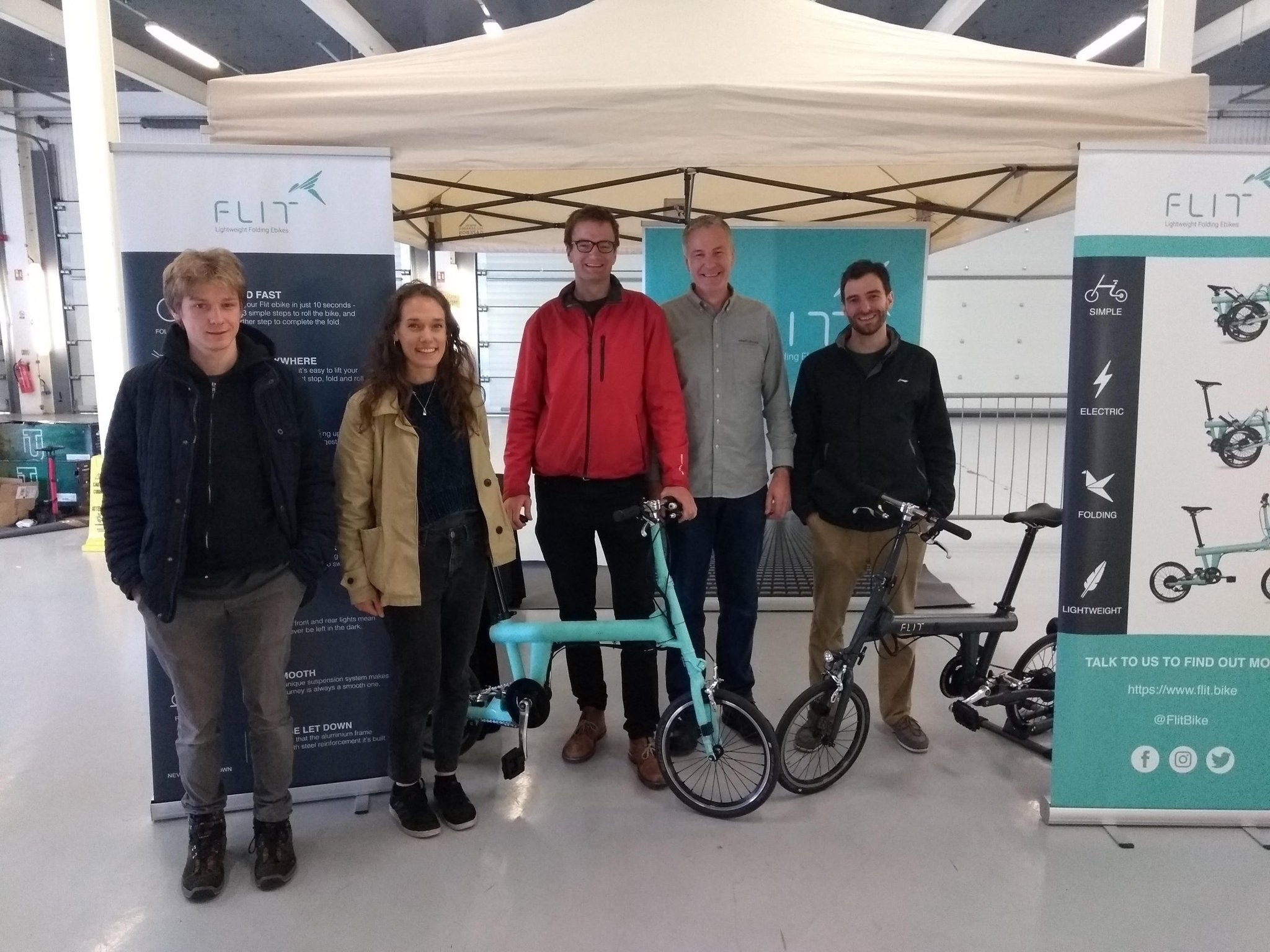 Flit lightweight folding ebike - at Fully Charged LIVE
