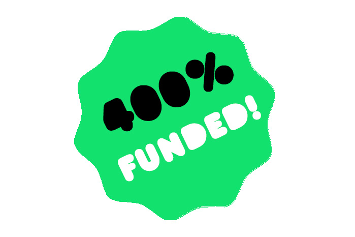 We've reached £100,000 on Kickstarter!