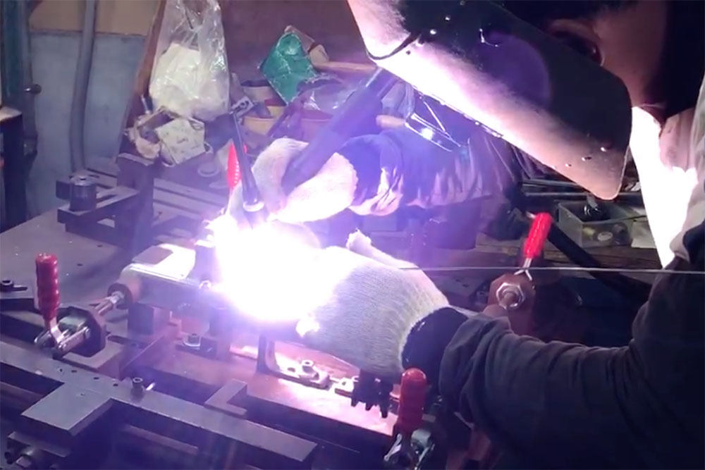 Flit lightweight folding ebike - welding has begun!