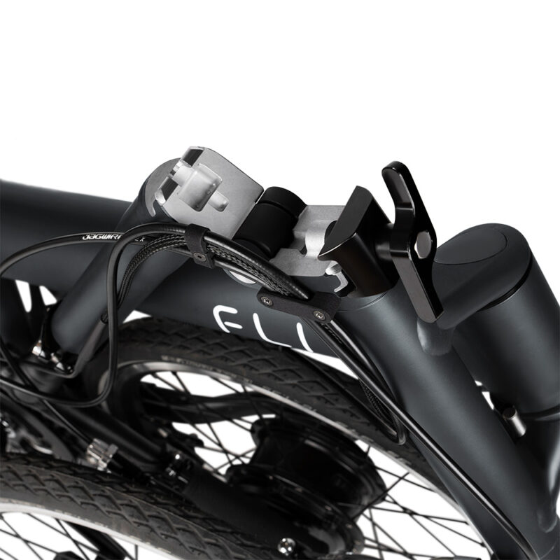 Flit-16 lightweight folding ebike - hinges