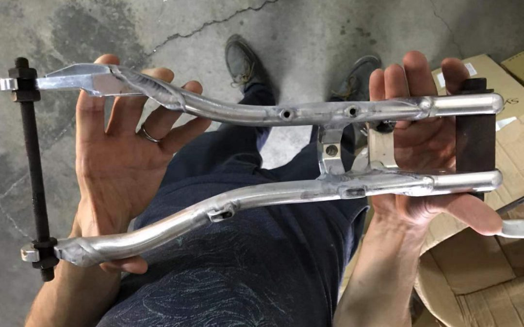 Engineering stories: how the rear swing arm is manufactured