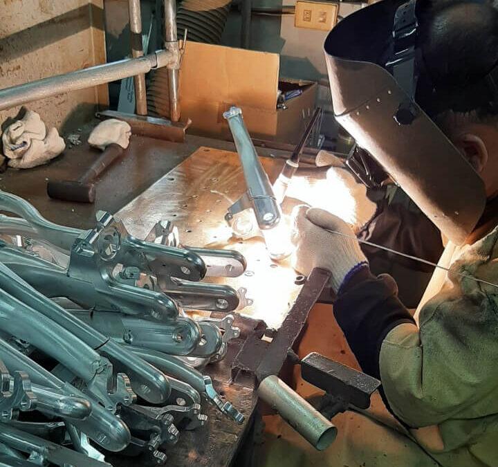 Engineering stories: welding begins!