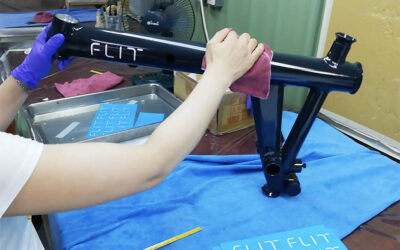 Development of the FLIT-16, part 3: painting and assembly