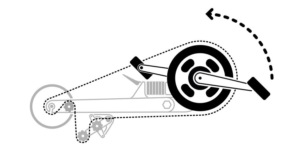 FLIT-16 lubricating chain