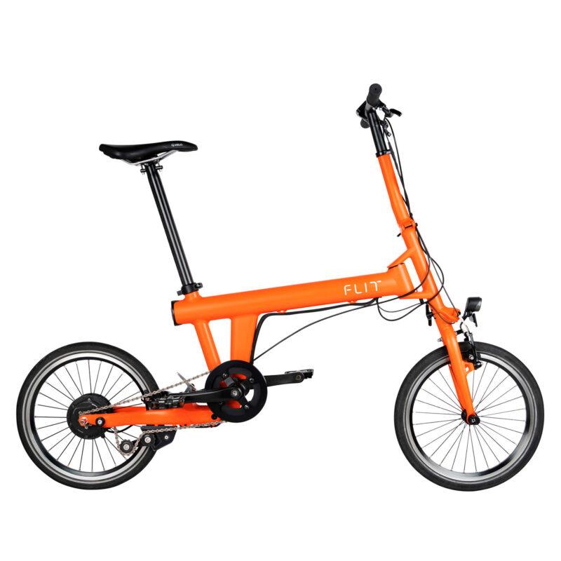 FLIT-16 Folding Ebike Blaze Orange