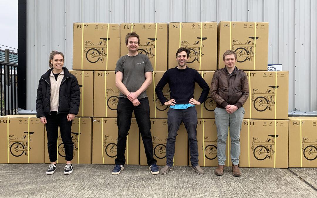 FLIT fleet arrives in Cambridge!